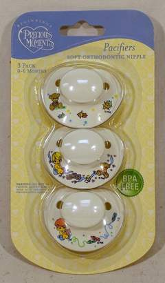 Luv N Care Luv N' Care Precious Moments 3 Pack Pacifiers BPA FREE 0-6 Months