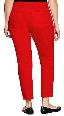 JCPenney a.n.a® Ankle-Length Skinny Jeans- Plus