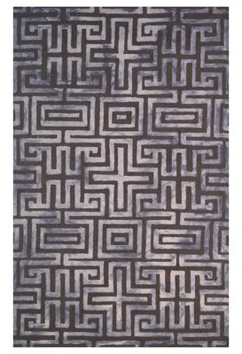 Eastern Weavers Wool Hand-Tufted Brown/Beige Area Rug Eastern Weavers