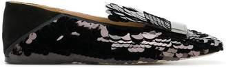 Sergio Rossi SR1 sequin loafers