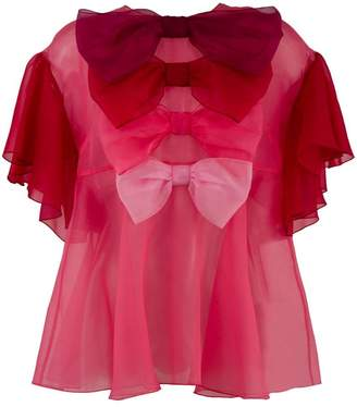 Dolce & Gabbana multiple bow blouse
