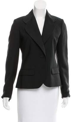 Viktor & Rolf Wool & Mohair Notch-Lapel Blazer