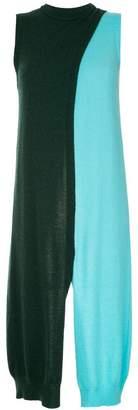 Rosetta Getty colour block knit vest