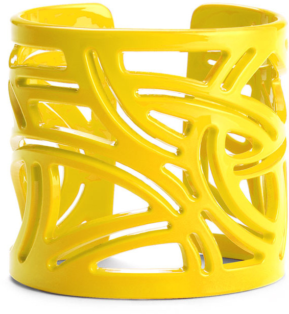 Moschitto Designs Cutout Geometric Cuff