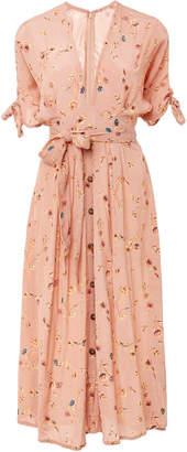 Faithfull The Brand Nina Midi Floral Dress