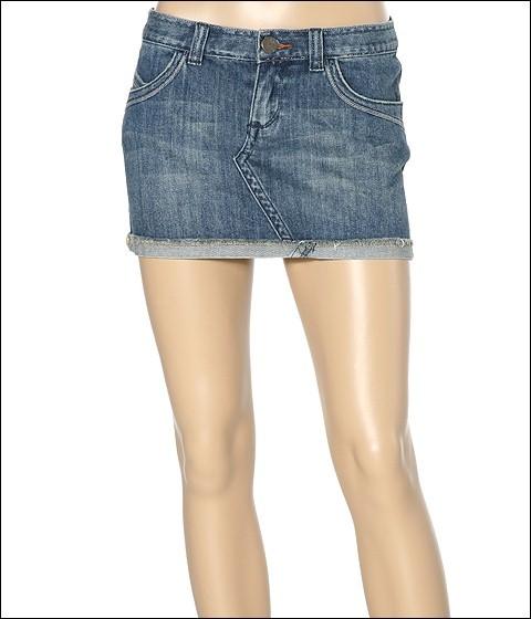 Roxy - Lollipop Denim Skirt (Ocean Blue)