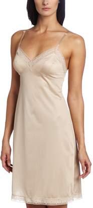 Vanity Fair Women's Rosette Lace Full Slip 10103