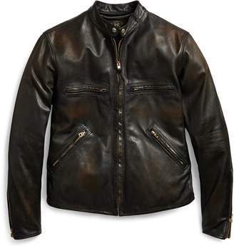 Ralph Lauren Slim Fit Leather Jacket