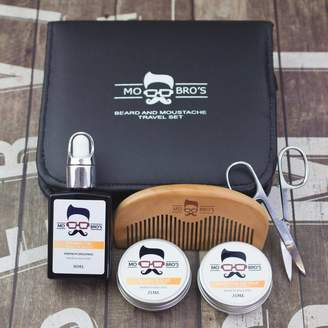 Mo Bro's Beard And Moustache Travel Grooming Set