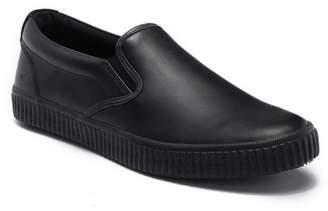 Andrew Marc Riverside Leather Slip-On Sneaker