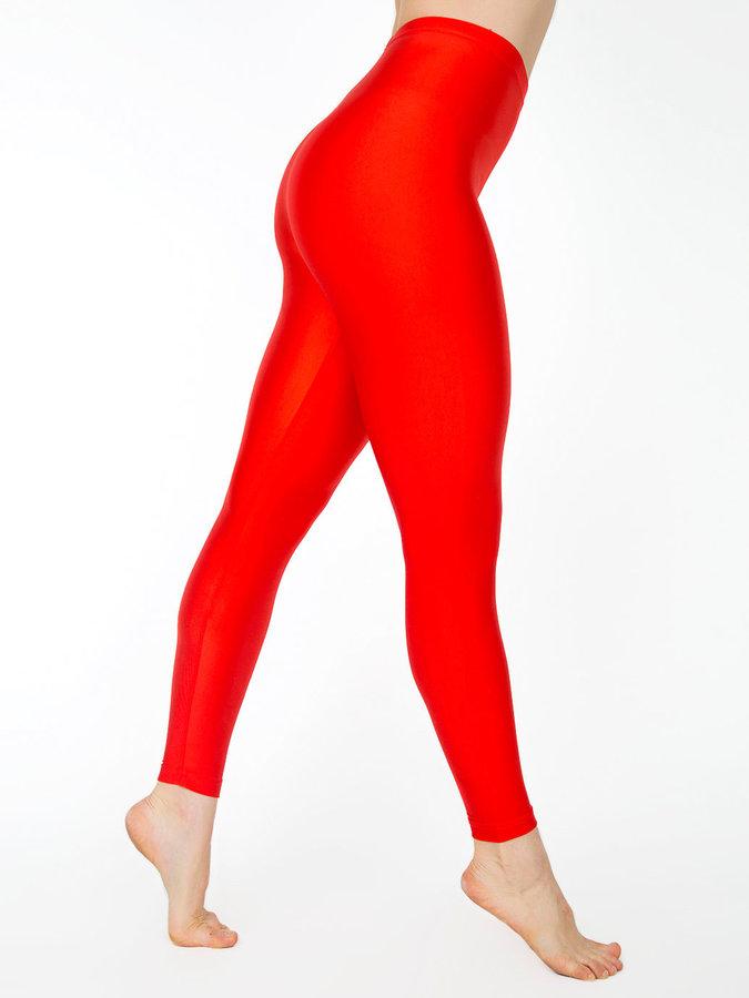 American Apparel Shiny Nylon Tricot Leggings