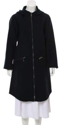 Dawn Levy Wool Hooded Coat
