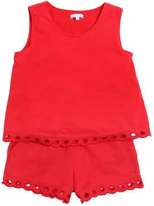 Chloé Cotton Sweatshirt Romper