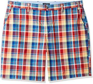 Nautica Men's Big and Tall Classic Fit Flat Front Stretch Chino Deck Short