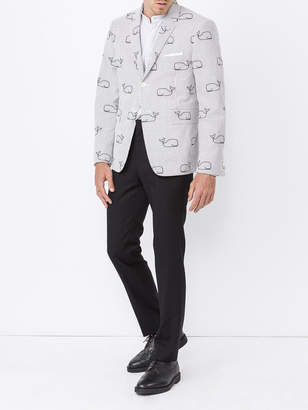 Thom Browne The webster x lane crawford whale jacket