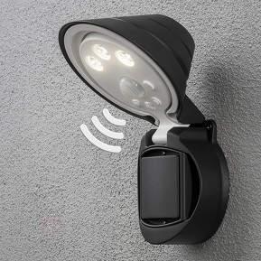 Batteriebetr. LED-Außenwandleuchte Prato m. Sensor