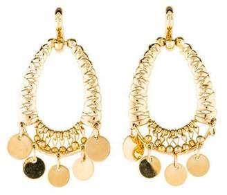 Eddie Borgo Mini Coin Chandelier Earrings