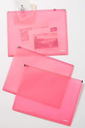 Poppin Zippered Portfolio Set