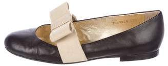 Walter Steiger Leather Round-Toe Flats