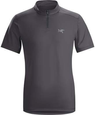 Arc'teryx Phasic Evolution Zip Neck Shirt - Men's