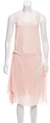 Veronica Beard Scoop Neck Sleeveless Dress