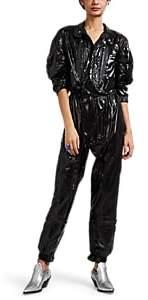 Maison Margiela Women's Silk Tech-Taffeta Jumpsuit - Black