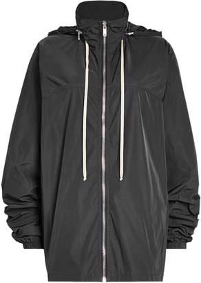 Rick Owens Zipped Jacket with Hood