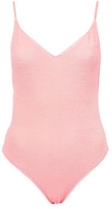 TopshopTopshop Shirred swimsuit