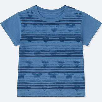 Uniqlo Toddler Mickey & The Sun Short-sleeve Graphic T-Shirt