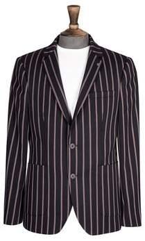 Burton Mens Regatta Stripe Stretch Blazer