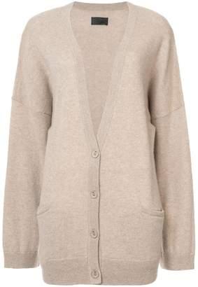 RtA cashmere buttoned cardigan