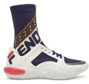 Fendi Mania Sock-Insert Chunky Sneakers