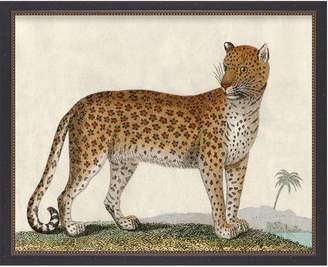 Serena & Lily Vintage Jaguar I in Beaded Frame by Whalebone Creek Prints