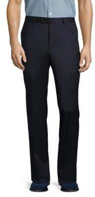 John Varvatos Solid Woolen Pants