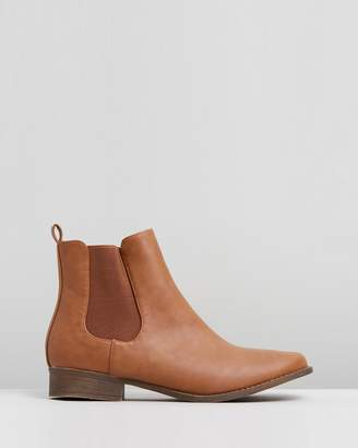 Spurr ICONIC EXCLUSIVE - Callie Gusset Ankle Boots