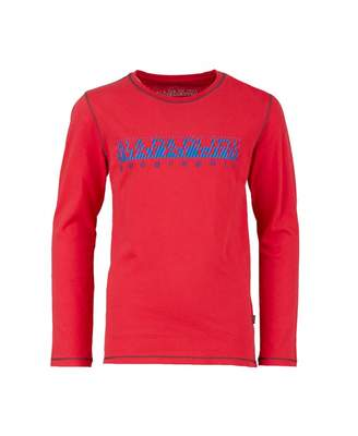Napapijri Sion Long Sleeved Contrast Logo T-shirt