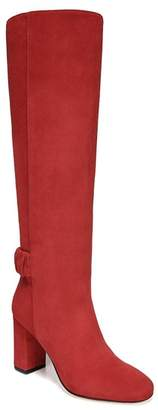 Via Spiga Shayla Suede Block Heel Tall Boot