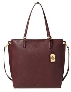 Lauren Ralph Lauren Anfield Faux Leather Tote Bag