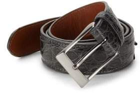 Saks Fifth Avenue Crocodile Leather Belt