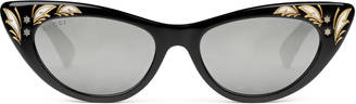 Cat eye sunglasses $415 thestylecure.com