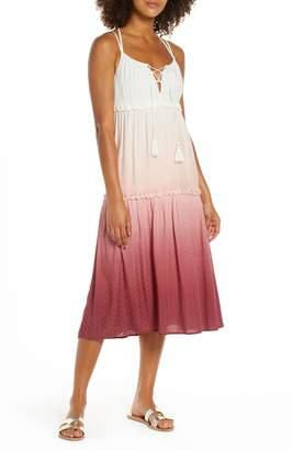 Chelsea28 Carmelita Tiered Cover-Up Dress