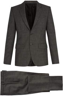Givenchy Single-breasted houndstooth wool suit