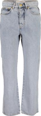 Victoria Beckham VICTORIA Straight Leg High Rise Jean