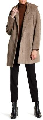 Cole Haan Hooded Long Sleeve Coat