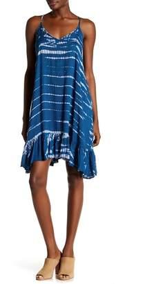 BOHO ME Spaghetti Strap Print Dress