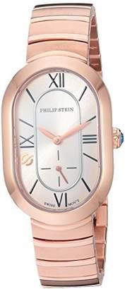 Philip Stein Teslar Women's 'Modern' Swiss Quartz Tone and Gold Plated Casual Watch(Model: 74RGP-CW-MSSRGP)