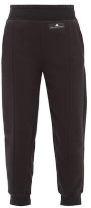 adidas by Stella McCartney Performance Essentials Cotton Blend Track Pants - Womens - Black