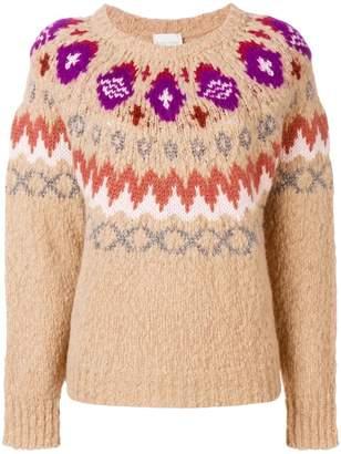 Forte Forte jacquard knit jumper