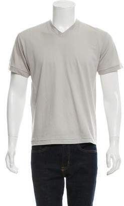 Marni Short Sleeve V-Neck T-Shirt