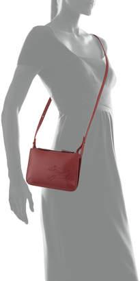 Longchamp Shop It Leather Crossbody Bag, Red